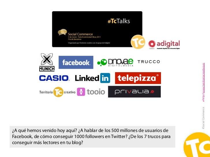 Social Commerce: el uso de los medios sociales en la venta Slide 3