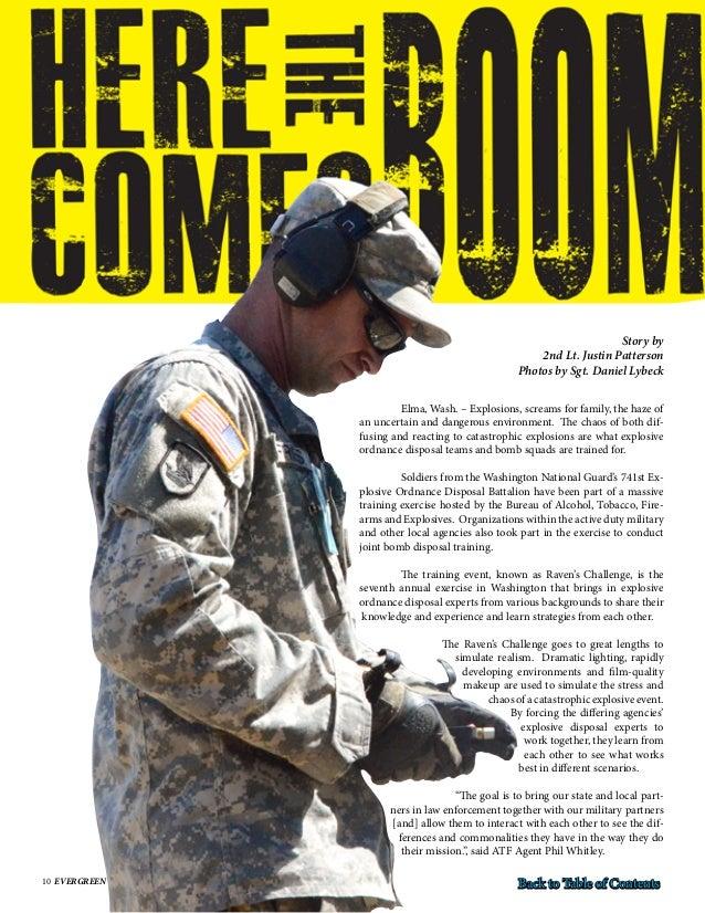 Washington military department evergreen magazine for Evergreen magazine