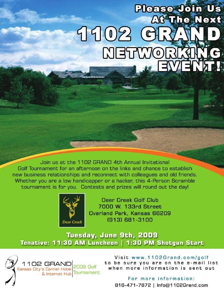 1102 GRAND 4th Annual Golf Tournament