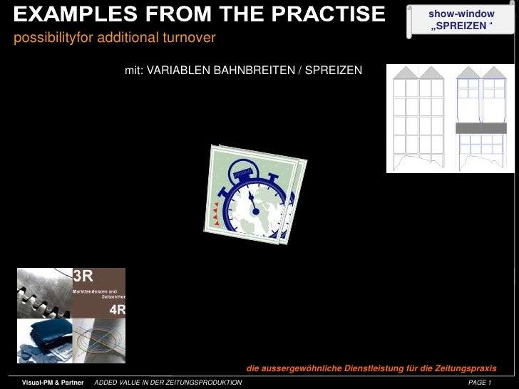 possibilityfor additional turnover<br />mit: VARIABLEN BAHNBREITEN / SPREIZEN<br />die aussergewöhnliche Dienstleistung fü...