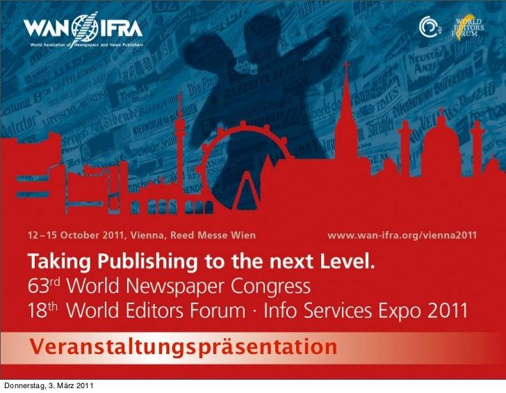 VeranstaltungspräsentationDonnerstag, 3. März 2011