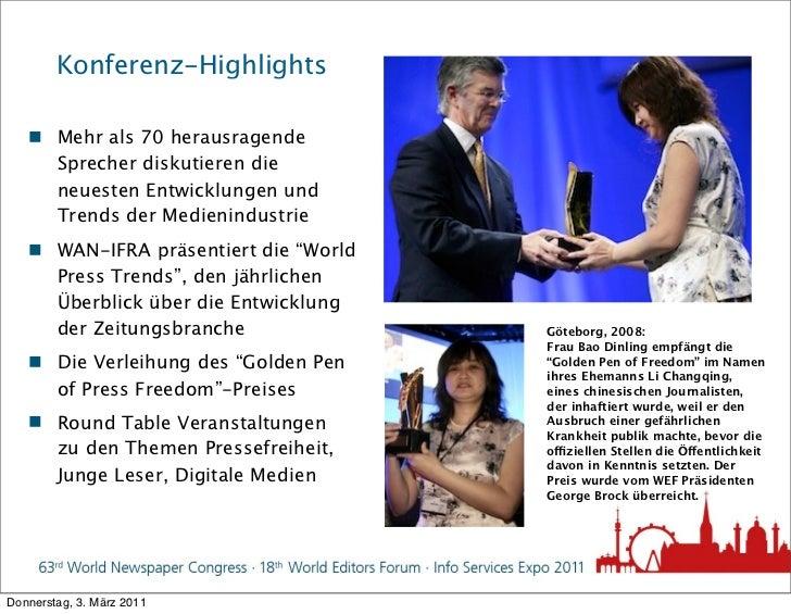 Konferenz-Highlights    Mehr als 70 herausragende     Sprecher diskutieren die     neuesten Entwicklungen und     Trends ...