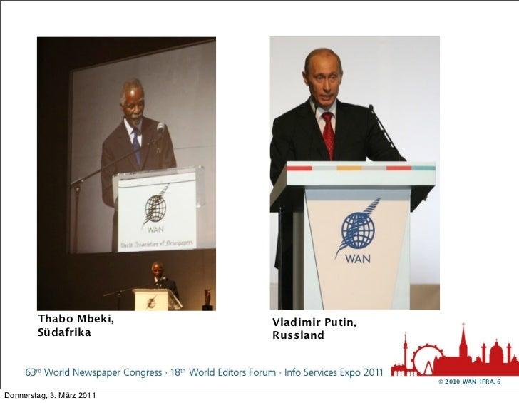 Thabo Mbeki,       Vladimir Putin,        Südafrika          Russland                                             © 2010 W...