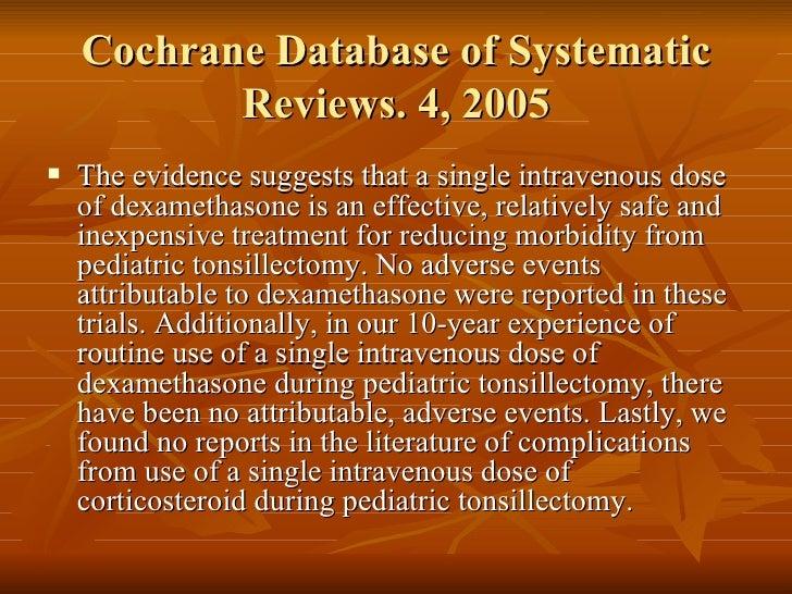 Decadron Dosage Pediatric