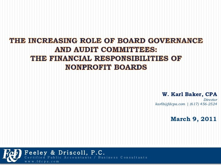 Why is Corporate Governance Important?