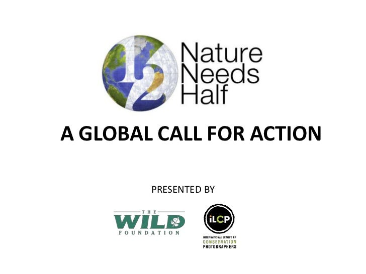 A GLOBAL CALL FOR ACTION<br />PRESENTED BY<br />