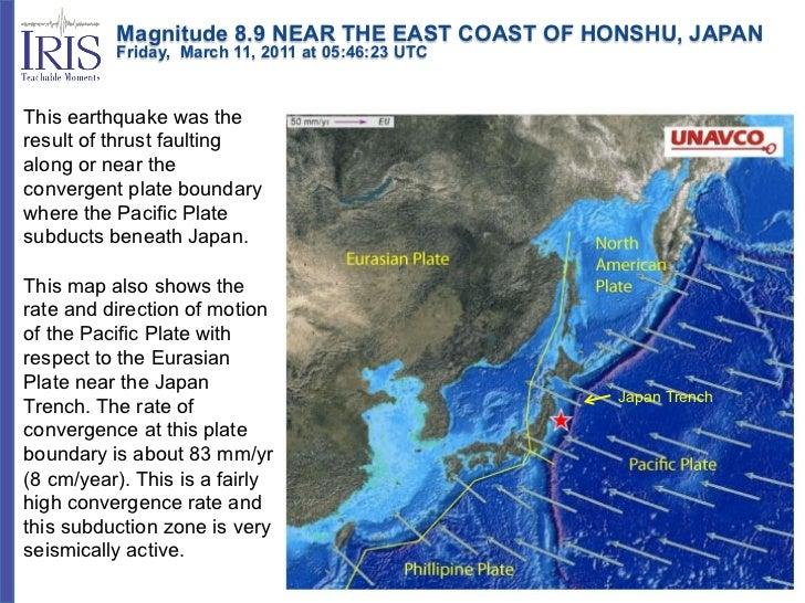 Magnitude 8.9 NEAR THE EAST COAST OF HONSHU, JAPAN          Friday, March 11, 2011 at 05:46:23 UTCThis earthqua...