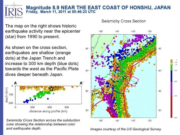 Magnitude 8.9 NEAR THE EAST COAST OF HONSHU, JAPAN            Friday, March 11, 2011 at 05:46:23 UTCThe map o...