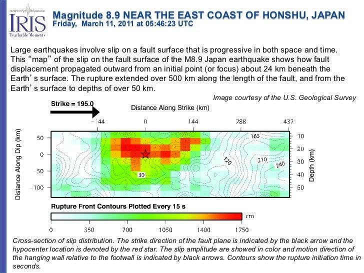 Magnitude 8.9 NEAR THE EAST COAST OF HONSHU, JAPAN             Friday, March 11, 2011 at 05:46:23 UTCLarge e...