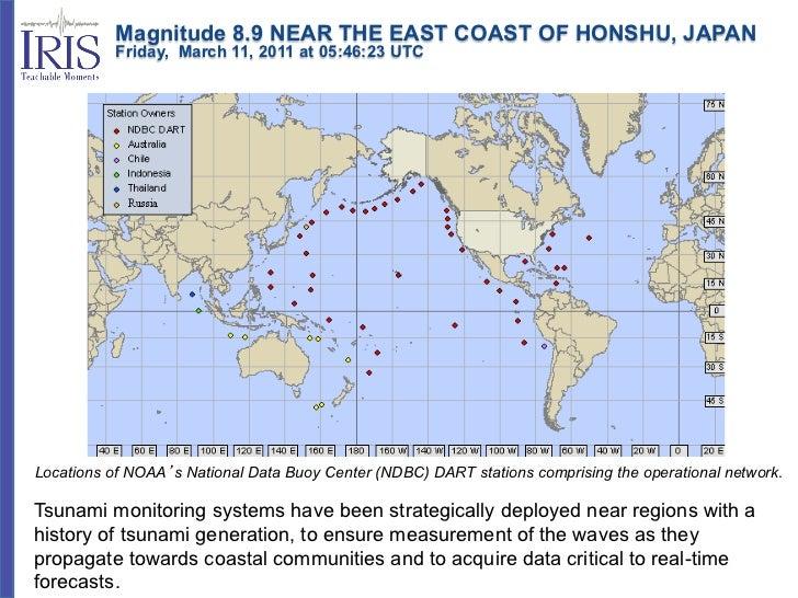 Magnitude 8.9 NEAR THE EAST COAST OF HONSHU, JAPAN           Friday, March 11, 2011 at 05:46:23 UTCLocations o...