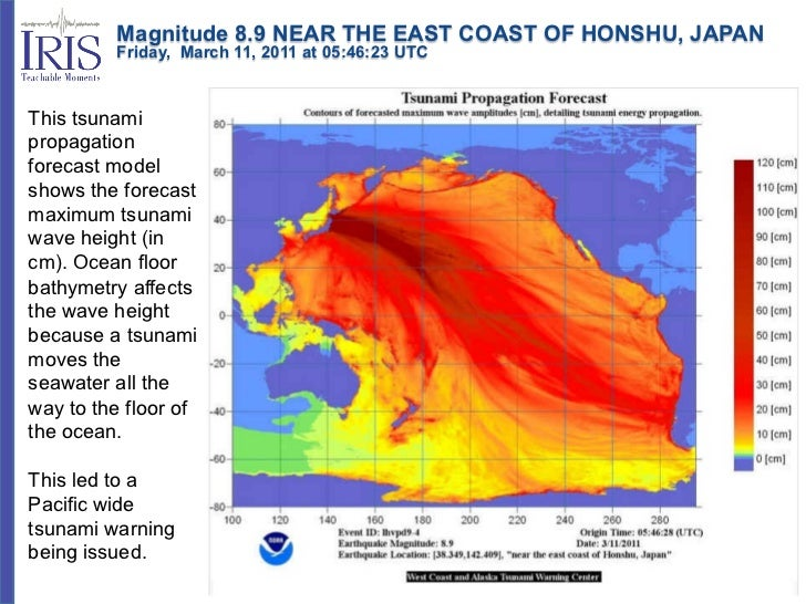 Magnitude 8.9 NEAR THE EAST COAST OF HONSHU, JAPAN         Friday, March 11, 2011 at 05:46:23 UTCThis tsunamipro...