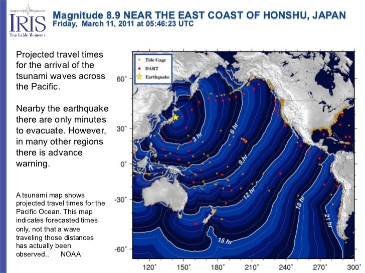 Magnitude 8.9 NEAR THE EAST COAST OF HONSHU, JAPAN            Friday, March 11, 2011 at 05:46:23 UTCProjected...