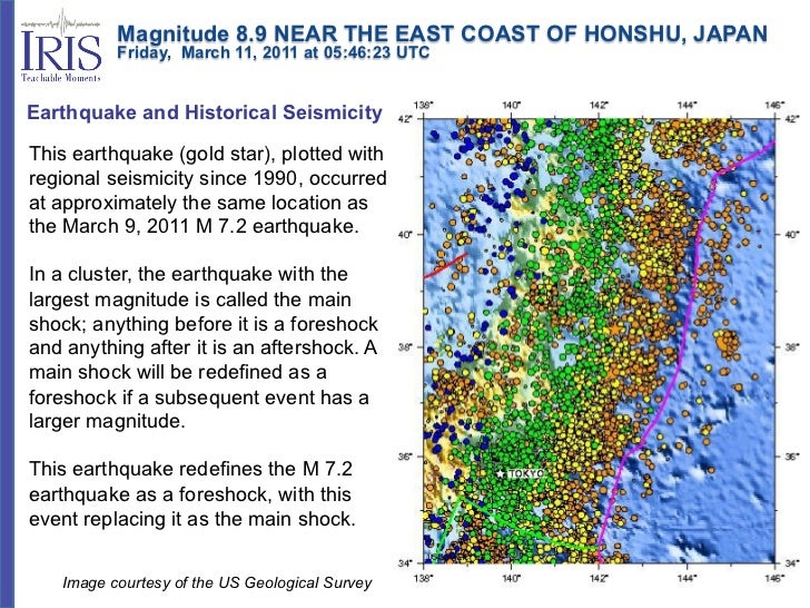 Magnitude 8.9 NEAR THE EAST COAST OF HONSHU, JAPAN          Friday, March 11, 2011 at 05:46:23 UTCEarthquake an...
