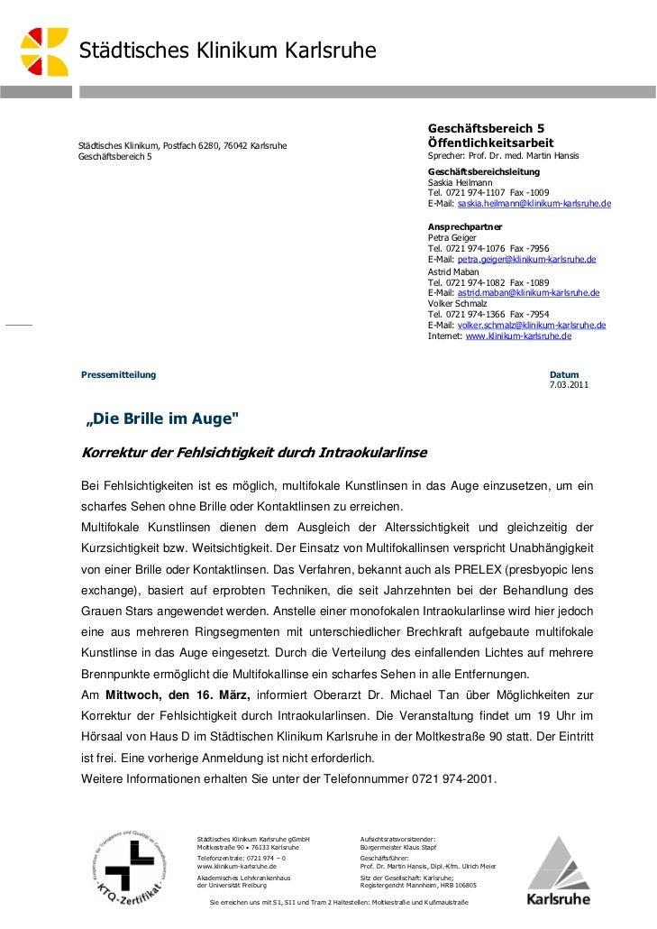 Städtisches Klinikum Karlsruhe                                                                                            ...