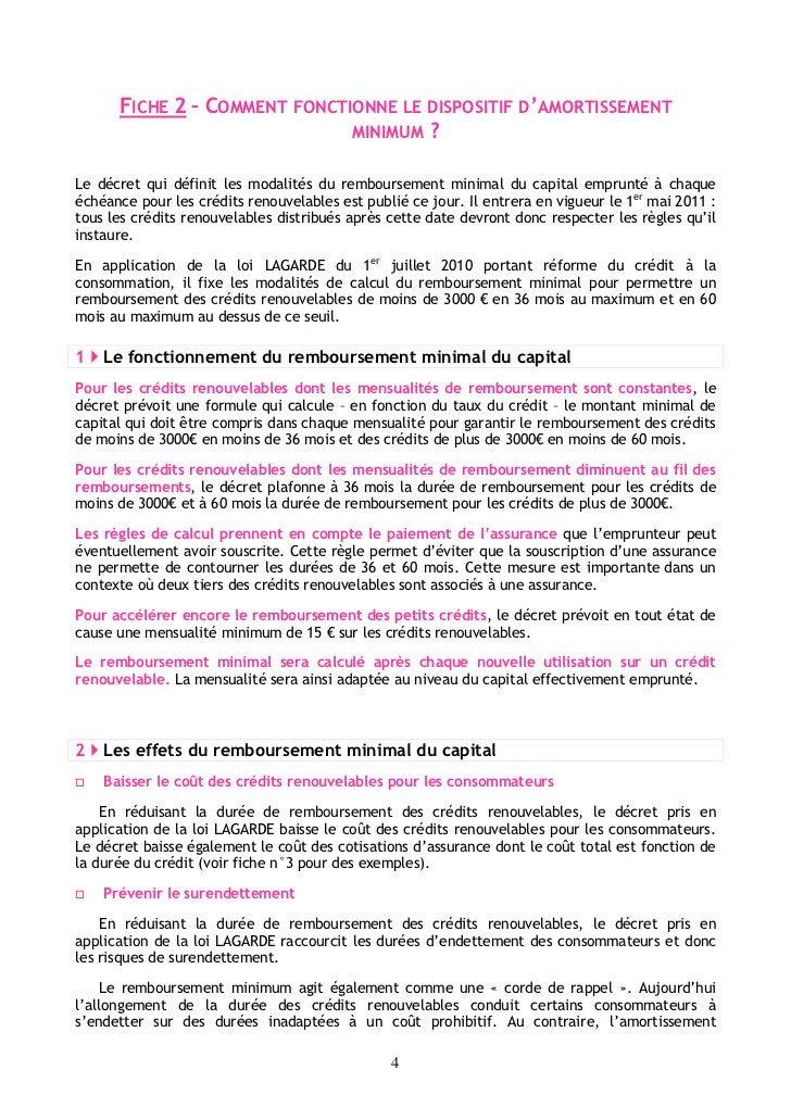 FICHE 2 – COMMENT FONCTIONNE LE DISPOSITIF D'AMORTISSEMENT                              MINIMUM ?Le décret qui définit les...
