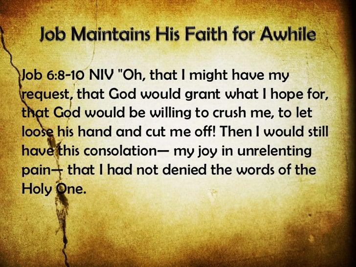 110327 Ot Vistas 18 Hard Questions In Tragic Times The Book Of Job