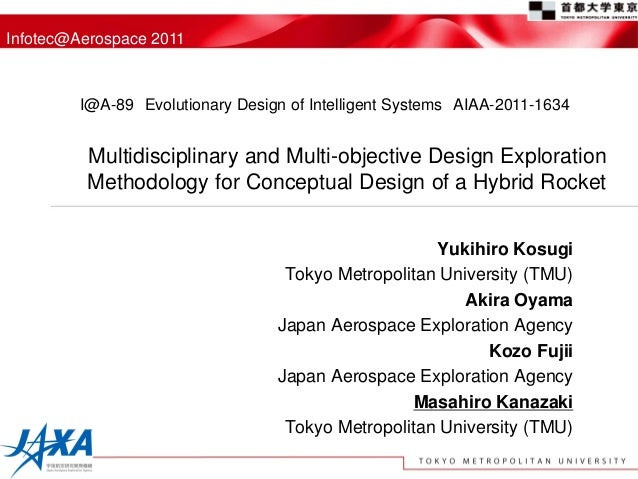 Infotec@Aerospace 2011         I@A-89 Evolutionary Design of Intelligent Systems AIAA-2011-1634         Multidisciplinary ...