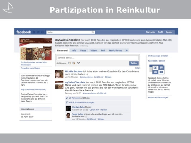 Partizipation in Reinkultur
