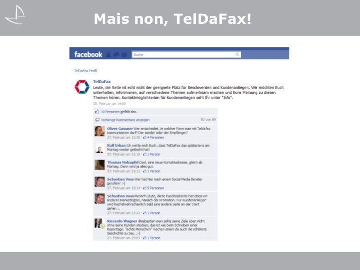 Mais non, TelDaFax!