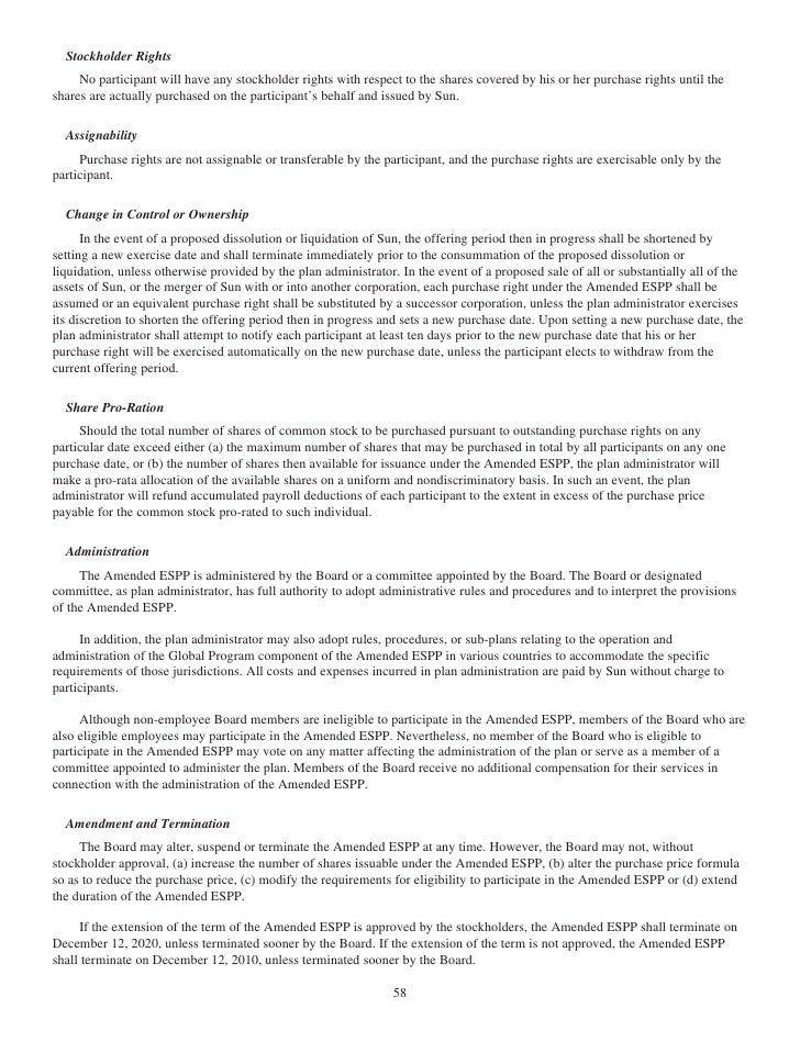 sun proxy statement 08 - 웹