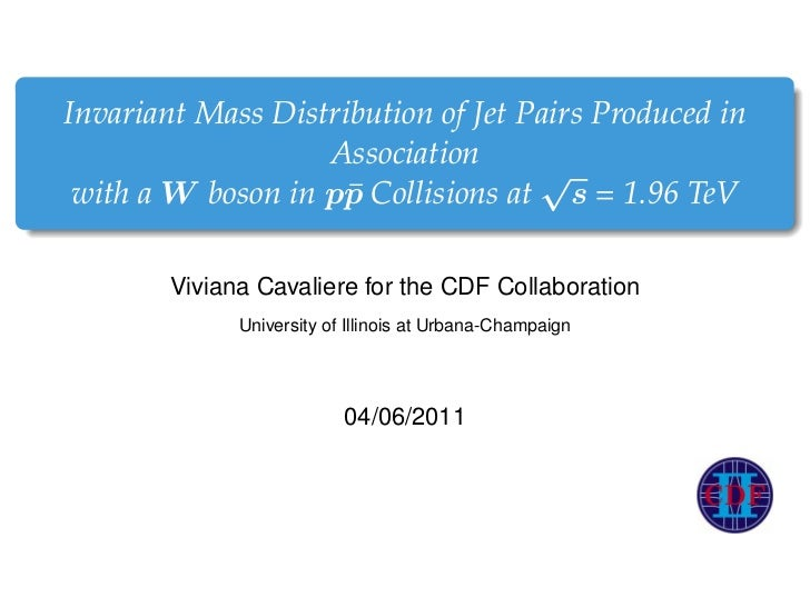 Invariant Mass Distribution of Jet Pairs Produced in                   Association                                    √ wi...