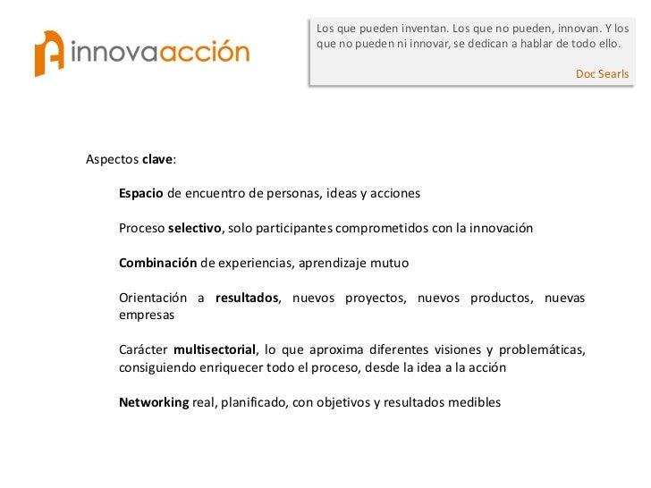 Los que pueden inventan. Los que no pueden, innovan. Y los                                      que no pueden ni innovar, ...