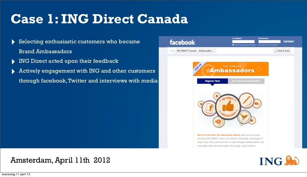 ING Bank of Canada (A): Launch of a Direct Bank HBS Case Analysis