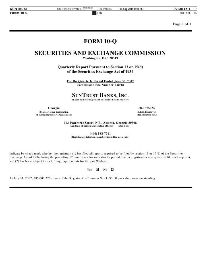 172.21.133.234 SUNTRUST                              R.R. Donnelley ProFile                      TOR wells0la      10-Aug-...