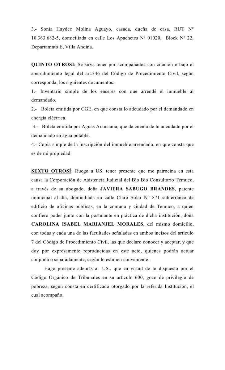 Modelo De Carta De No Renovacion De Contrato De Arrendamiento En ...