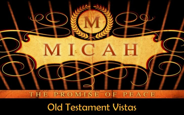 Old Testament Vistas<br />
