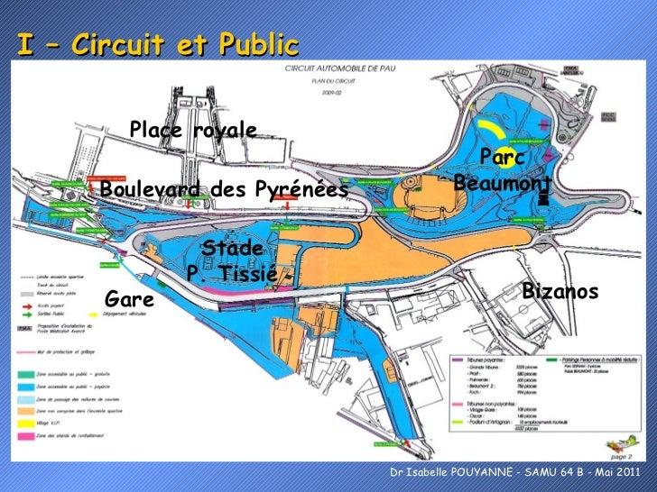 I – Circuit et Public Gare Boulevard des Pyrénées Parc Beaumont Bizanos Stade P. Tissié Place royale Dr Isabelle POUYANNE ...