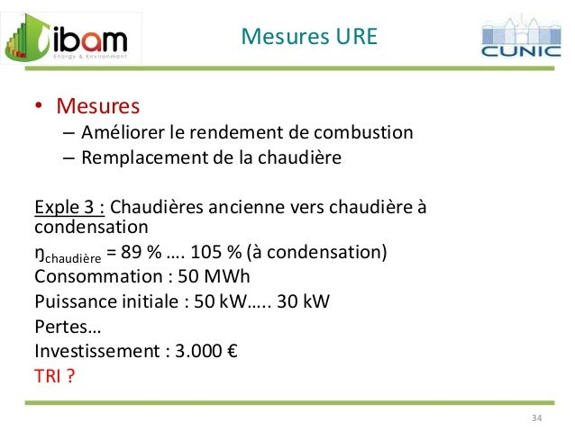 110509 ibam chauffage - Rendement chaudiere a condensation ...