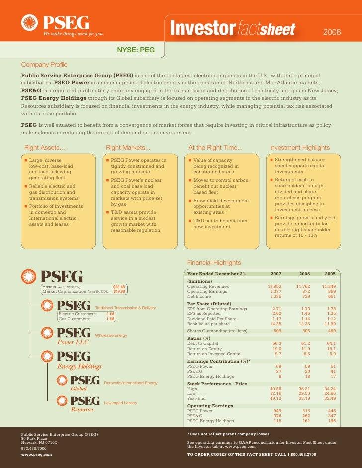 Investorfactsheet                                                     2008                                                ...