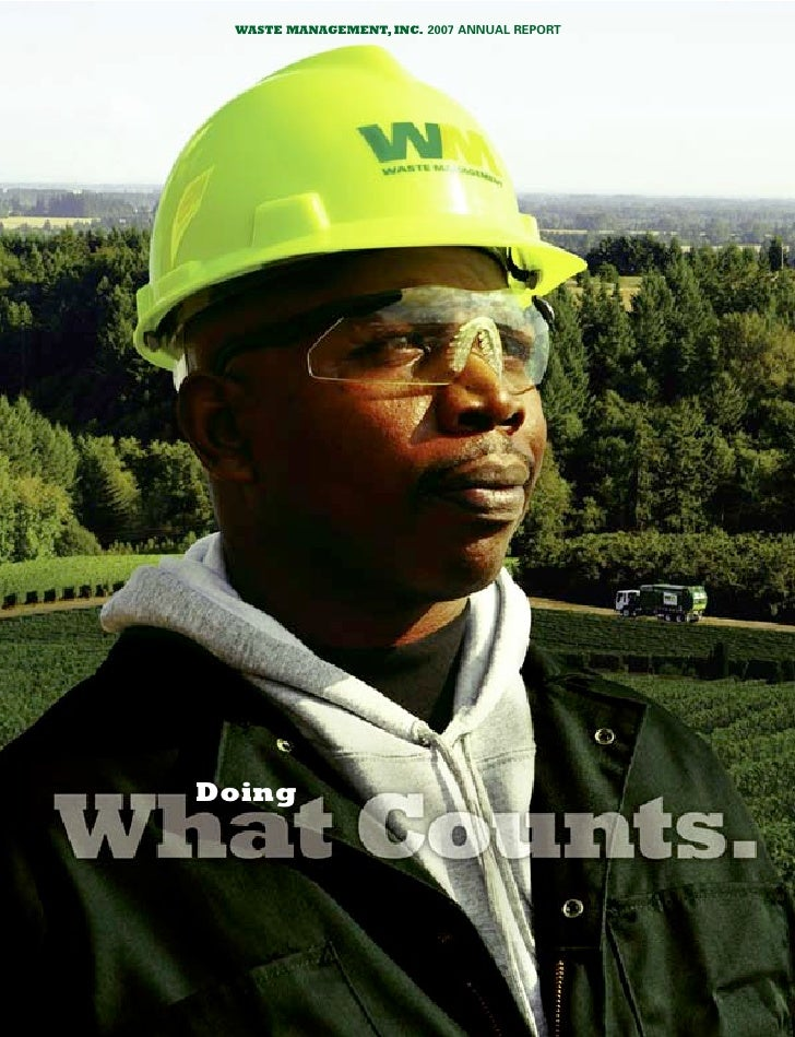 waste management 2007 Annual Report