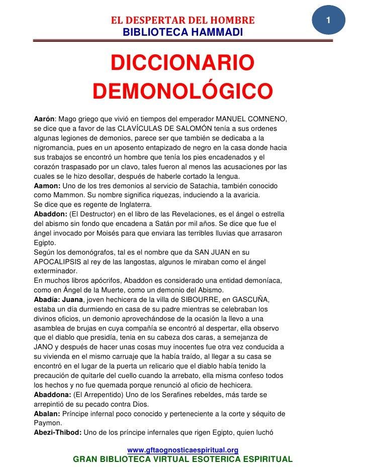EL DESPERTAR DEL HOMBRE                                    1                          BIBLIOTECA HAMMADI                  ...