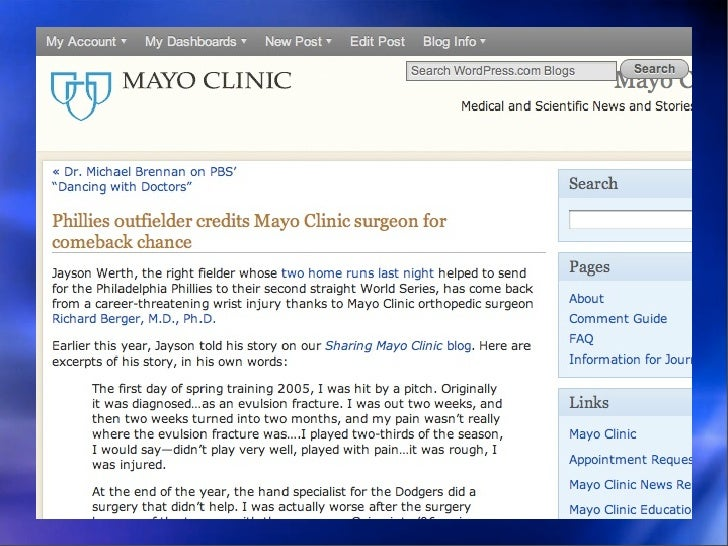 Case Study: Simple Storytelling • 8:45 a.m. Colleague mentions article  coming off embargo at 3 p.m. • Interviewed M.D. vi...