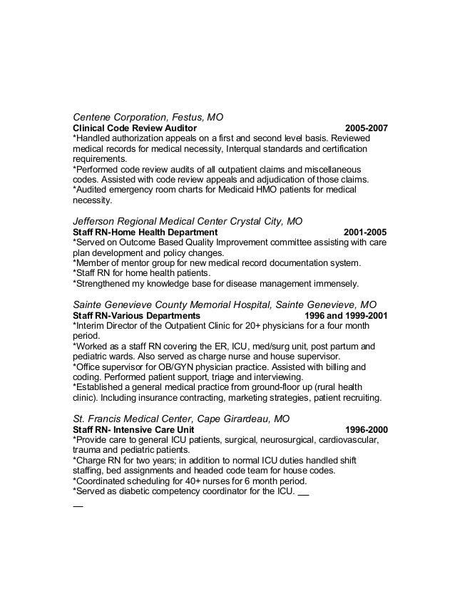 outcome based resume