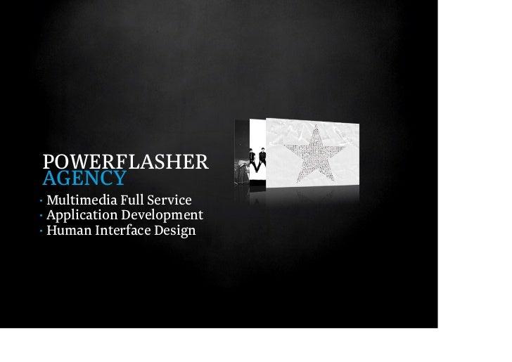 POWERFLASHERSOLUTIONS· Vertrieb eigener Produkte· Academy· Consulting