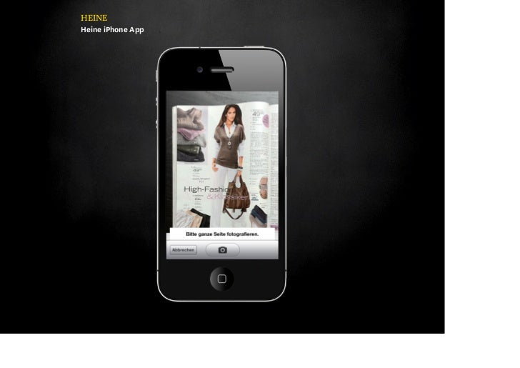 HEINEHeine iPhone App