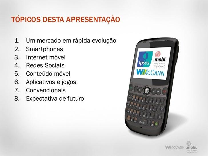 Consumidor Móvel 2011 Slide 2