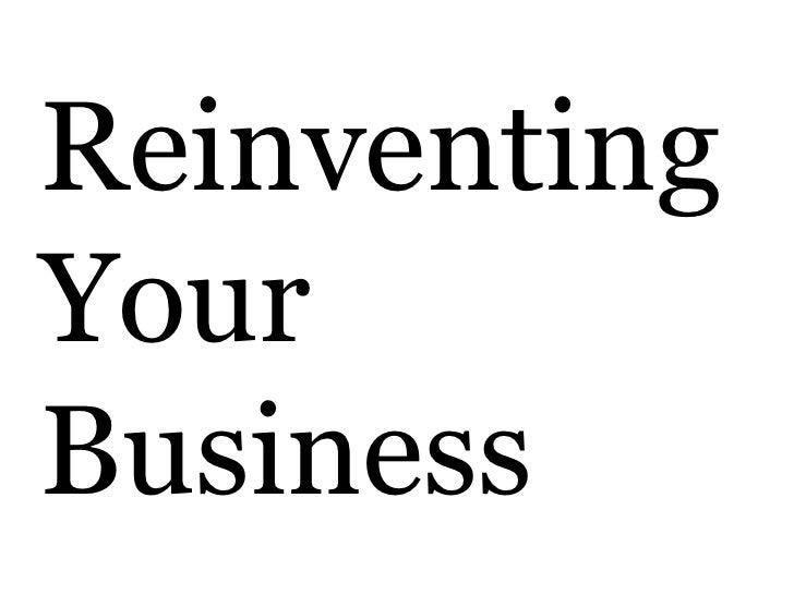 ReinventingYourBusiness