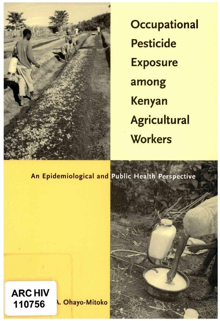 0                             Occupational                             Pesticide                             Exposure     ...