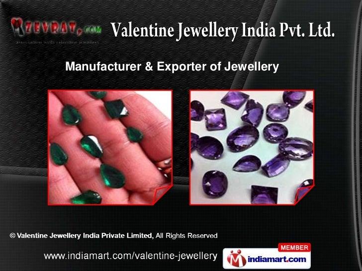 Manufacturer & Exporter of Jewellery