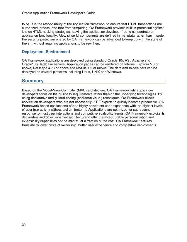 oaf developer guide 13 1 3 rh slideshare net Oracle 11G Oracle 10G Documentation