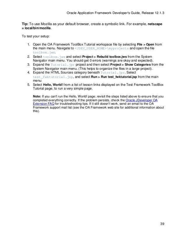 oaf developer guide 13 1 3 rh slideshare net Troubleshooting DNA Gel Electrophoresis Troubleshooting Flowchart Funny
