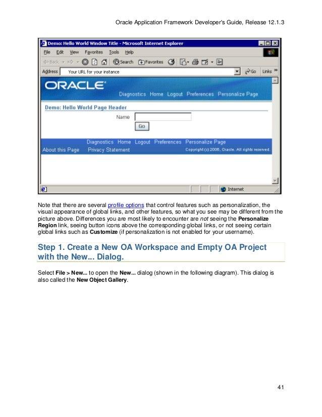 oaf developer guide 13 1 3 rh slideshare net