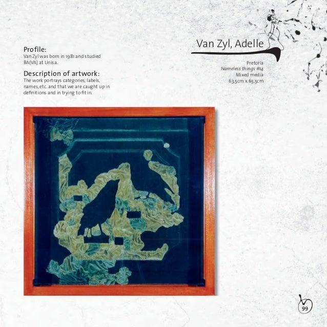 100Visser, Marguerite ElizabethBloemfonteinPossession/walkway/intersectionOil on wood(Triptych)a) 60cm x 42cmb) 60cm x 42c...