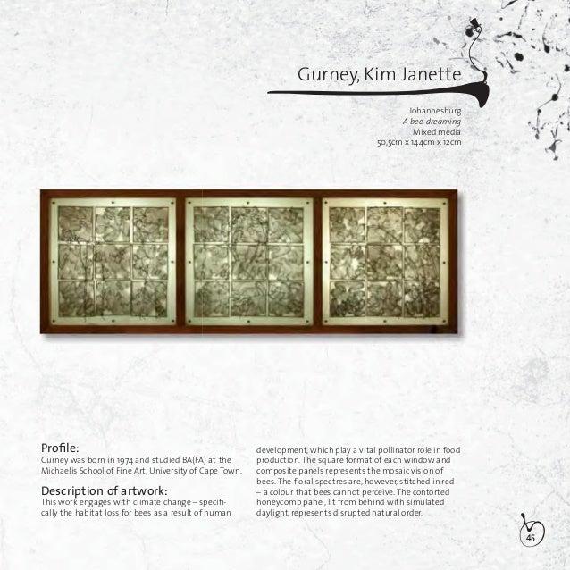 46Gutter, Pauline GertruidaBloemfonteinMemorial of memoriesOil on wood170cm x 122cmProfile:Gutter was born in 1980 and stu...
