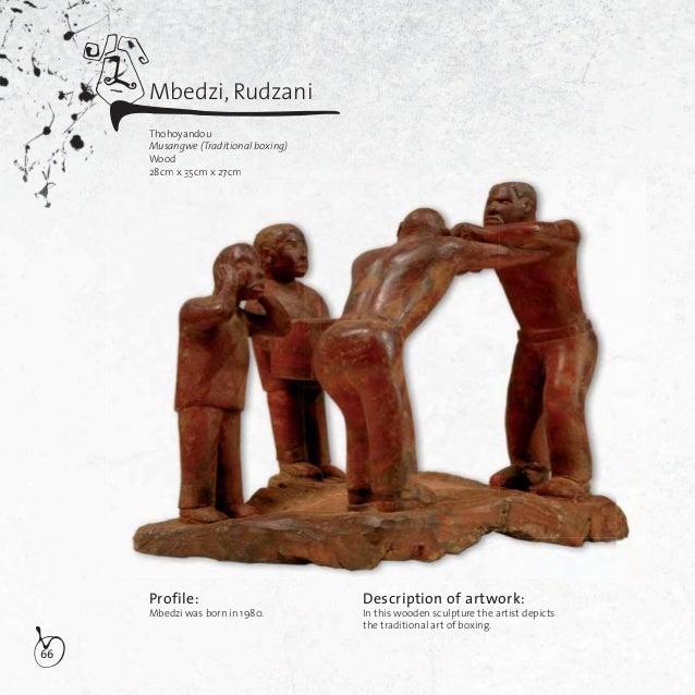67Mbedzi, RudzaniThohoyandouMine boyWood32cm x 14cm x 19,5cmDescription of artwork:In this wooden sculpture, Mbedziportray...