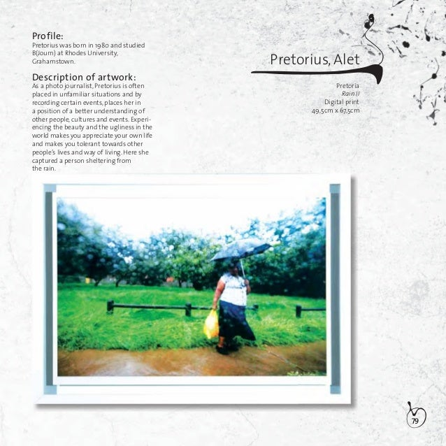 80Pretorius, Lorinda SamanthaPort ElizabethRendering illusionMixed Media45,5cm x 34,5cm x 25cmProfile:Pretorius was born i...